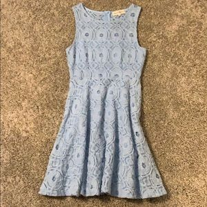 Alter'd State light blue lace dress XS